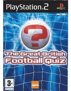 THE GREAT BRITISH FOOTBALL QUIZ für PlayStation 2