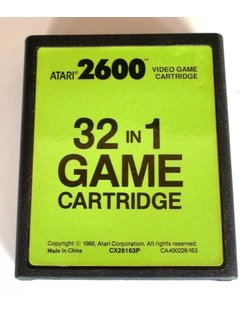 32 IN 1 GAME CARTRIDGE für Atari 2600