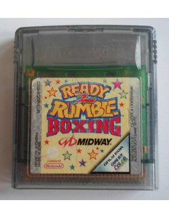 READY 2 RUMBLE BOXING for Nintendo Game Boy Color GBC
