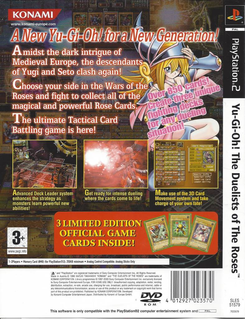 yu-gi-oh the duelists of the roses ps2 gratis