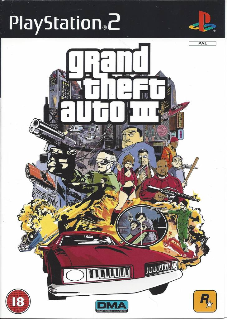 grand theft auto iii playstation 2 ps2 pal cib passion. Black Bedroom Furniture Sets. Home Design Ideas