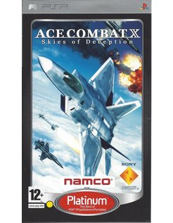 ACE COMBAT X SKIES OF DECEPTION for PSP