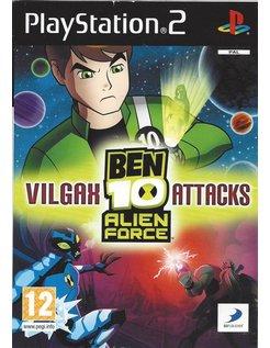 BEN 10 ALIEN FORCE VILGAX ATTACKS für Playstation 2 PS2