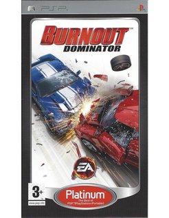 BURNOUT DOMINATOR für PSP - Platinum