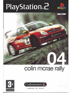 COLIN MCRAE RALLY 04 voor Playstation 2 PS2