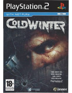 COLD WINTER for Playstation 2 PS2 - manual in English