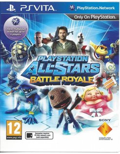 PLAYSTATION ALL-STARS BATTLE ROYALE voor PS Vita