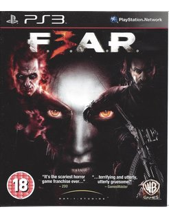 F.E.A.R. 3 - FEAR 3 for Playstation 3
