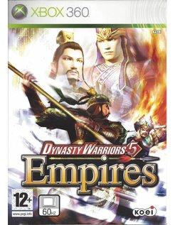 DYNASTY WARRIORS 5 EMPIRES voor Xbox 360