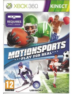MOTIONSPORTS PLAY FOR REAL for Xbox 360