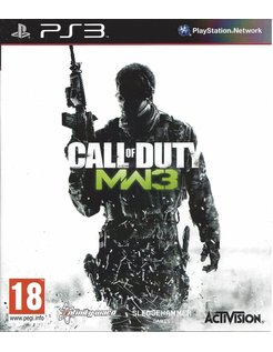 CALL OF DUTY MODERN WARFARE 3 for Playstation 3 PS3
