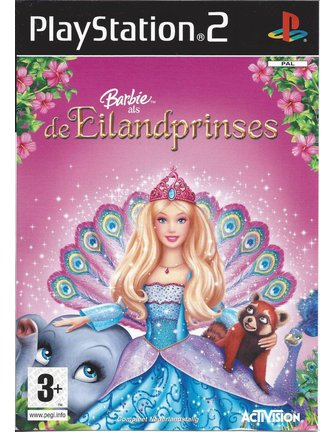 BARBIE AS THE ISLAND PRINCESS for Playstation 2 PS2