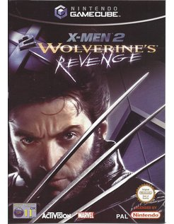 X-MEN 2 WOLVERINE'S REVENGE for Gamecube