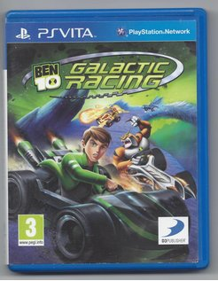 BEN 10 GALACTIC RACING voor PS Vita