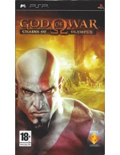 GOD OF WAR CHAINS OF OLYMPUS for PSP
