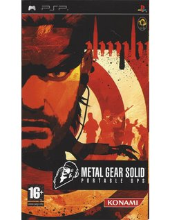METAL GEAR SOLID PORTABLE OPS for PSP