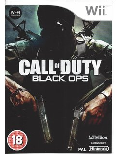 CALL OF DUTY BLACK OPS for Nintendo Wii