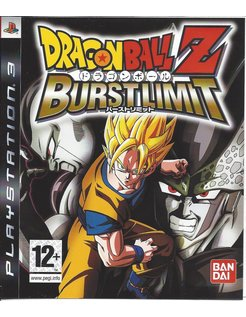 DRAGON BALL Z BURST LIMIT for Playstation 3 PS3
