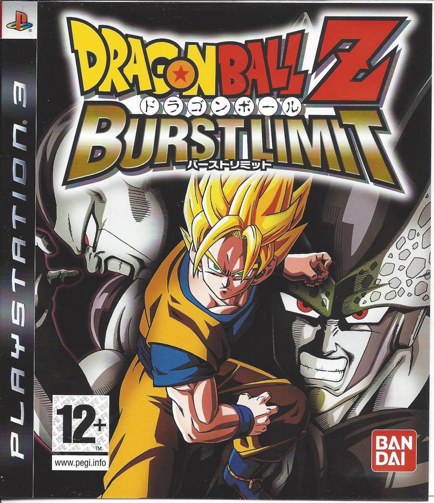 Dragon Ball Games For Ps3 : Dragon ball z burst limit playstation ps passion