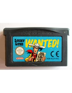 LUCKY LUKE WANTED for Game Boy Advance GBA