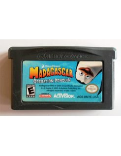 MADAGASCAR OPERATION PENGUIN for Game Boy Advance GBA