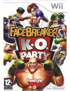 FACEBREAKER K.O. PARTY voor Nintendo Wii