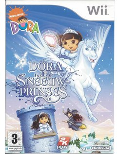 DORA REDT DE SNEEUWPRINSES für Nintendo Wii
