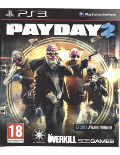 PAYDAY 2 for Playstation 3 PS3