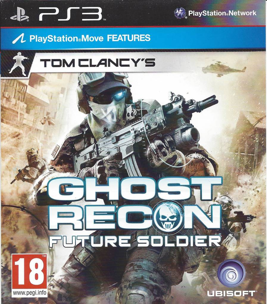 GHOST RECON FUTURE SOLDIER for Playstation 3 PS3