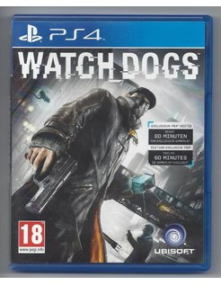 WATCH DOGS for Playstation 4 PS4
