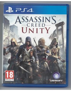 ASSASSIN'S CREED UNITY for Playstation 4 PS4