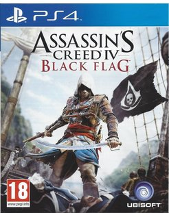 ASSASSIN'S CREED IV (4) BLACK FLAG for Playstation 4 PS4