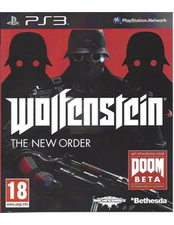 WOLFENSTEIN THE NEW ORDER for Playstation 3 PS3