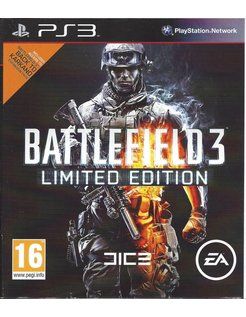 BATTLEFIELD 3 LIMITED EDITION for Playstation 3 PS3