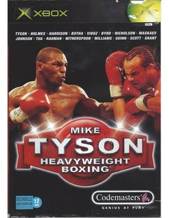 MIKE TYSON HEAVYWEIGHT BOXING for Xbox
