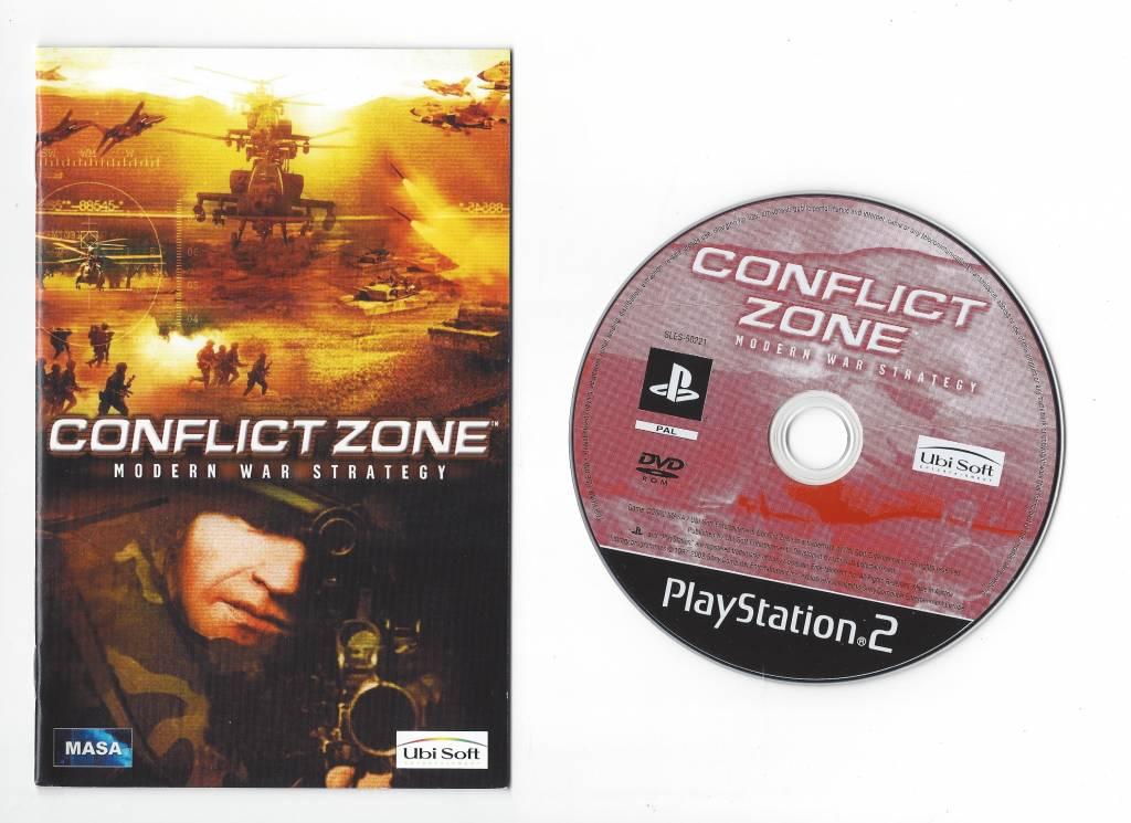 conflict zone ps2 video code