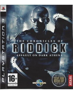 THE CHRONICLES OF RIDDICK ASSAULT ON DARK ATHENA for Playstation 3 PS3