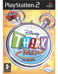 DISNEY THINK FAST for Playstation 2 PS2