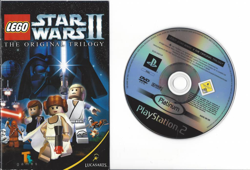 LEGO STAR WARS II 2 THE ORIGINAL TRILOGY For Playstation PS2