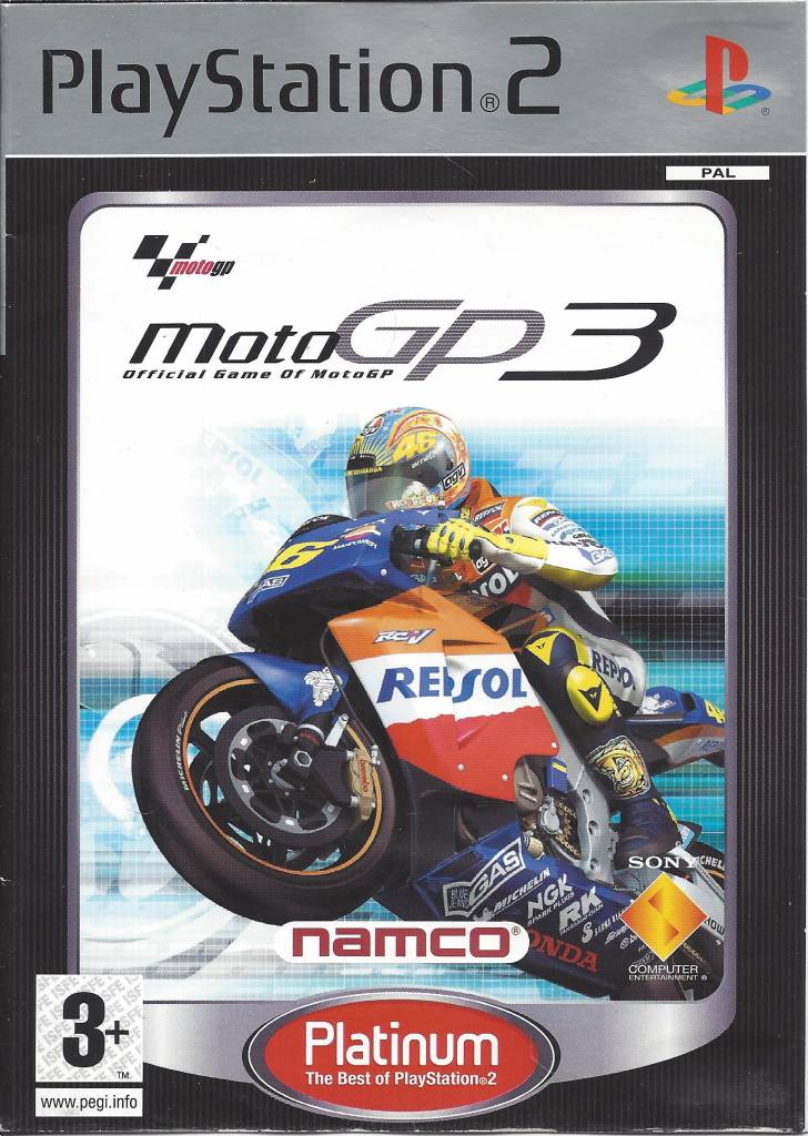 moto gp3 for playstation 2 ps2 passion for games webshop passion for games. Black Bedroom Furniture Sets. Home Design Ideas