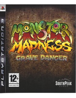 MONSTER MADNESS GRAVE DANGER for Playstation 3 PS3
