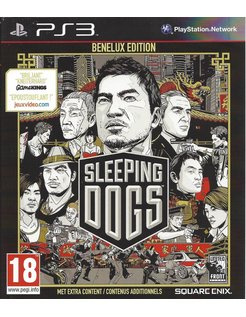 SLEEPING DOGS BENELUX EDITION für Playstation 3 nPS3