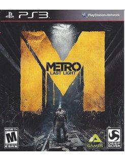 METRO LAST NIGHT für Playstation 3 PS3