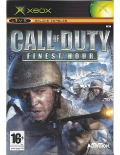 CALL OF DUTY FINEST HOUR for Xbox