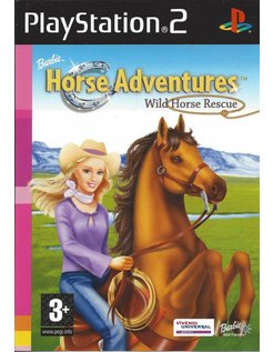 BARBIE HORSE ADVENTURES - WILD HORSE RESCUE für Playstation 2 PS2