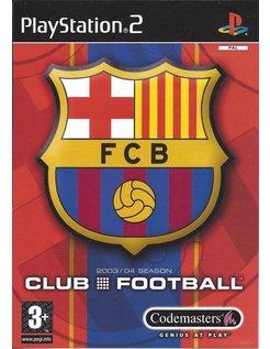FC BARCELONA CLUB FOOTBALL 2003/04 SEASON for Playstation 2 PS2