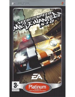 NEED FOR SPEED MOST WANTED 5-1-0 for PSP
