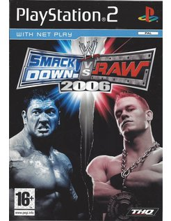 SMACKDOWN VS RAW 2006 for Playstation 2 PS2