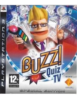 BUZZ QUIZ TV SPECIAL EDITION for Playstation 3 PS3