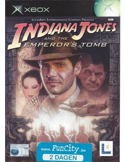 INDIANA JONES AND THE EMPEROR'S TOMB für Xbox